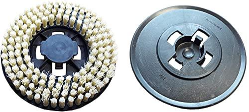Disco de cepillo duro amarillo para enceradora Electrolux ZP14, AP800/Tornado: Chambord LC500C. – Lote de 3 discos