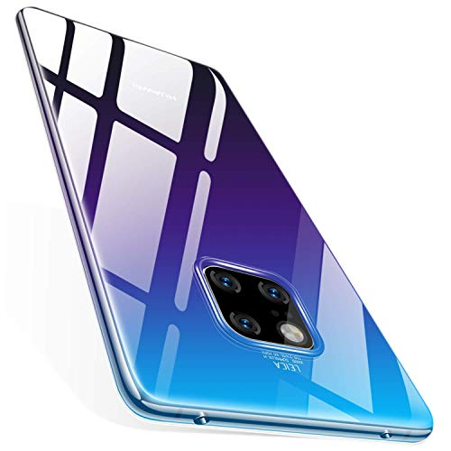 AVANA Hülle für Huawei Mate 20 Pro Schutzhülle Slim Fit Hülle Schutz Durchsichtige Silikon TPU Dünne Handyhülle Klar Cover - Transparent