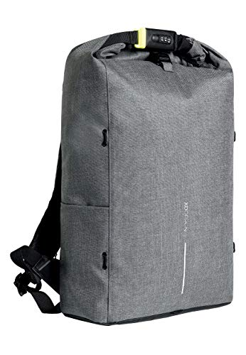 XD Design Urban Lite Anti-Diebstahl Rucksack Grau (Unisex Reisetasche)