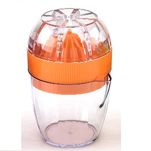QWER Manuelle Zitronenpresse Citrus Orange Juicer BPA-frei Spülmaschinenfest für Zuhause,Orange