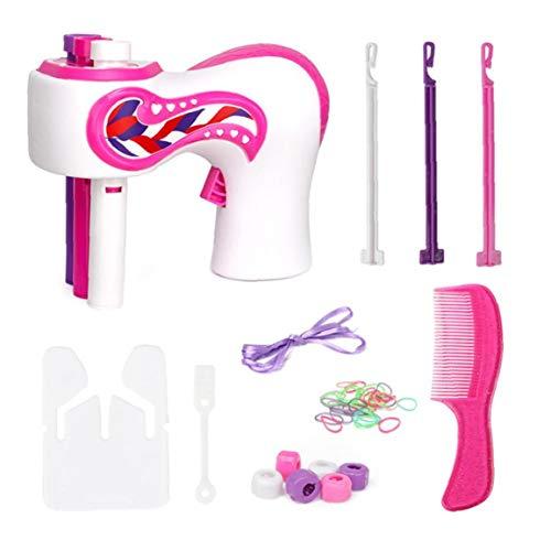 ZYCX123 Trenzadora del Pelo eléctrico automático de Bricolaje Estilo de Pelo de la Herramienta del Peinado Trenzado de Torsión trenzadora Máquina Regalos para Las niñas