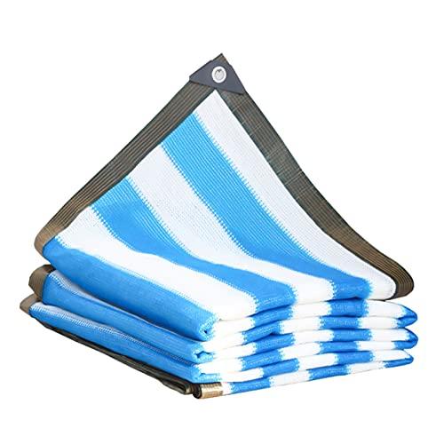 ZRY Toldos para Patio Velas De Sombra Malla Sombra Bloqueador Solar Tiras Azules, Casa Espesar Cifrado Red De Aislamiento, Personalizable (Size : 3x3m)
