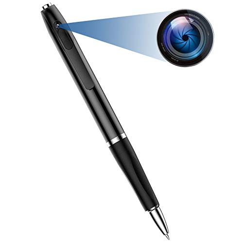 Spy Camera Pen, Hidden Camera with 150 Minutes Pen Battery Life, Mini Spy Camera with 1080P, Spy Cam with Picture Taking, Mini Camera for Classroom Learning or Security
