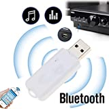 USB Wireless Bluetooth v2.1 Audio Music Receiver Adapter Amplifier for Apple, Android, Laptop