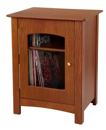 Crosley Bardstown Entertainment Cabinet, Paprika