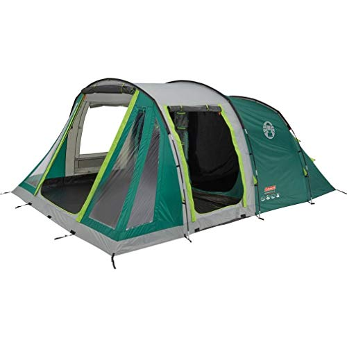 Coleman Mosedale 5 Family 5 Person Tent, Grey/Green, One Size