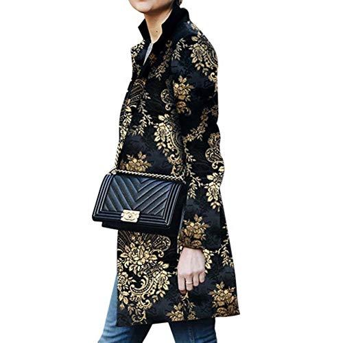 SHANGYI dames lange trenchcoat dames druk kantoor pak jas jas dames street clothing kleding dames jas jas