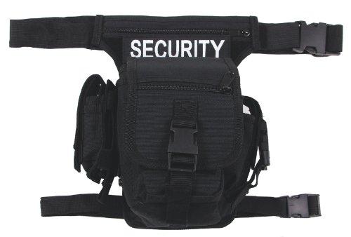 MFH Hip Bag Hüfttasche Outdoor Tasche Softair Beintasche Paintball Gürteltasche viele Farben (Schwarz)