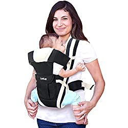 LuvLap Elegant Baby Carrier (Black),Luvlap,baby,carrier,kids