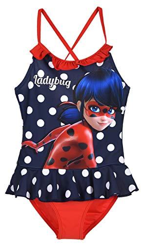 Ladybug Niñas Traje De Baño Una Pieza