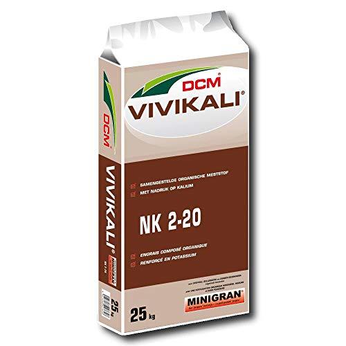 DCM Professionnel öko Engrais de potassium Vivikali , 25 kg