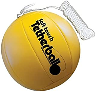 Park & Sun Sports Soft Touch Tetherball with 7' Nylon Cord and Clip