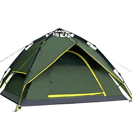 Zhongwei - bâche Tentes entièrement automatiques 3-4 personnes Self-driving Equipment Outdoor Camping Tentes de loisirs de plage tente (Color : B)