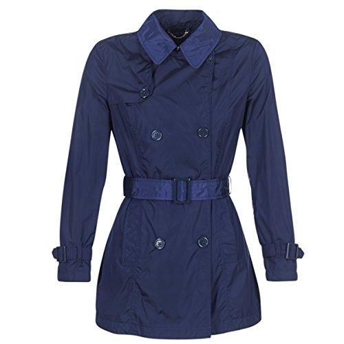 Geox Neksama Mäntel Damen Marine - DE 34 (IT 40) - Trenchcoats Outerwear
