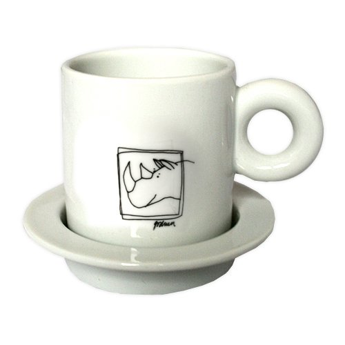 npm bonapart Espressotasse Sweet Animals (Nashorn)