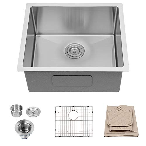Lordear 23 inch Kitchen Sink Undermount 16 Gauge Stainless Steel...