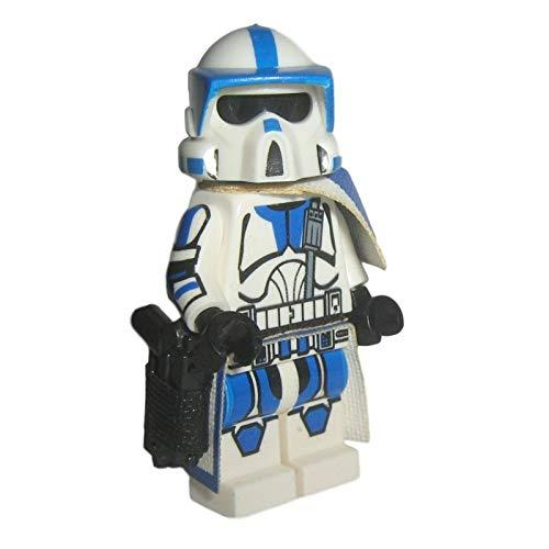 Custom Brick Design 501st Legion ARF Scout Clone Trooper Figur V.1 - modifizierte Minifigur des bekannten Klemmbausteinherstellers und somit voll kompatibel zu Lego