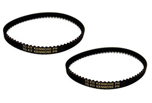 (2) Kenmore Vacuum Geared Belt Cogged 20-5285 HD Panasonic - NEW
