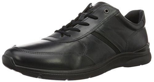 ECCO Irving, Zapatos de Cordones Derby Hombre, Negro (2001black), 49 EU
