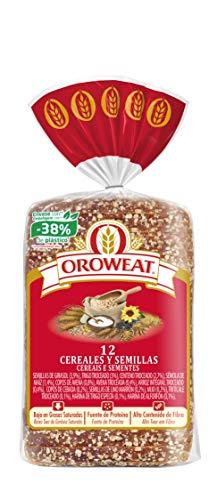 Oroweat - Pan de Molde Integral 12 Cereales Y Semillas 18 Rebanadas 680 g