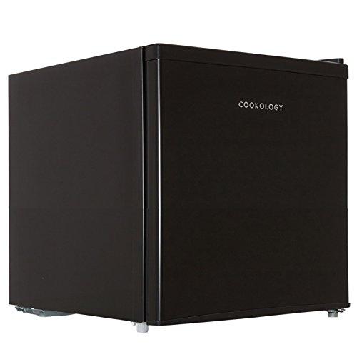 Cookology Table Top Mini Fridge 46 Litre Refrigerator with Ice Box (Black)