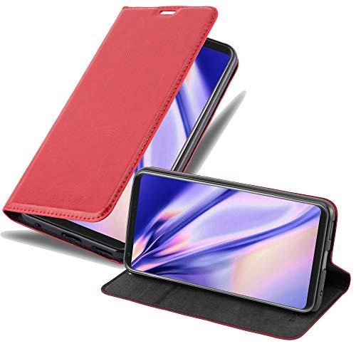 Cadorabo Custodia Libro per LG V30 in ROSSO MELA - con Vani di Carte, Funzione Stand e Chiusura Magnetica - Portafoglio Cover Case Wallet Book Etui Protezione