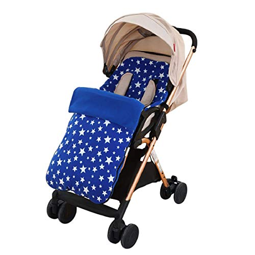 Winter 3 in 1 Kinderwagen Schlafsack Fußsack Winddicht Stuhlkissen Baby Mädchen Jungen warm Einschlagdecke Babydecke Universal für Babyschale, Autositz,Kinderwagen oder Babybett