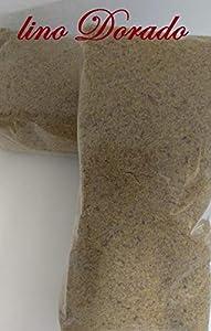 Semillas de Lino Dorado MOLIDO 1000 gr - linaza MOLIDA 1 Kg