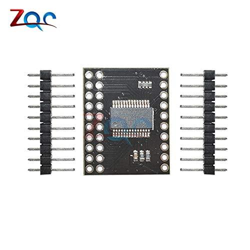 MCP23017 serielle Interface-Modul IIC I2C SPI MCP23S17 bidirektionale 16-Bit-I/O-Expander-Pins 10Mhz serielle Interface-Modul