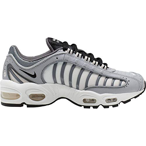 Nike Womens Air Max Tailwind IV Running Trainers CJ7976 Sneakers Shoes (UK 4.5 US 7 EU 38, Wolf Grey Black Grey 006)