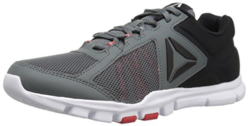 Reebok Men's Yourflex Train 9.0 MT Running Shoe, Alloy/Primal red/Black/White, 10 M US