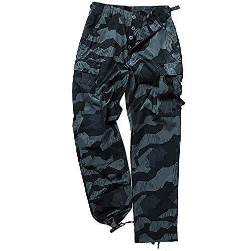 Pantalón militar de Mil-Tec, uniforme de batalla de EE.UU, pantalón de caza, camuflaje, para pescar, de ocio, tallas:XS-7 XL, unisex, 110340000S435000, Spinternight, small