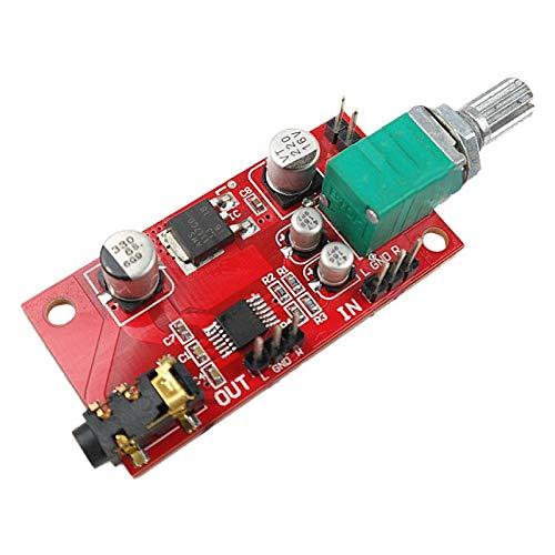 Moligh doll Scheda Amplificatore per Cuffie L Amplificatore nel Miniatura MAX4410 può Essere Utilizzato Come Preamplificatore Anziché NE5532