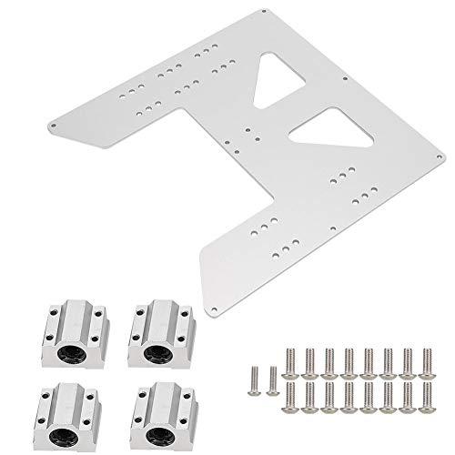Parti della Stampante 3D Piastra di Trasporto Z + Set di Blocchi scorrevoli SC8UU Adatto per Prusa I3 Anet A8 A6 Sostituzione Accessori Stampante 3D