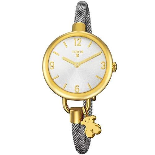 Reloj Tous Hold de acero IP dorado con correa de acero REF. 700350220
