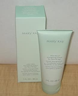 Mary Kay Mint Bliss Energizing Lotion ~ Feet & Legs ~ 3 Oz