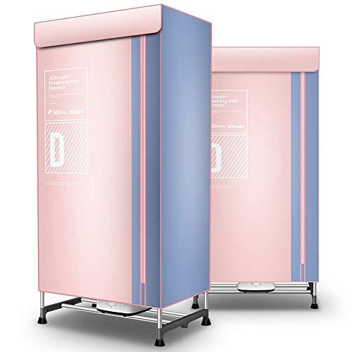 ZJIAN elektrischer Wäschetrockner,Kondenstrockner,trockner wärmepumpen,Doppel-Edelstahl,große Kapazität,fürs Badezimmer oder den Balkon