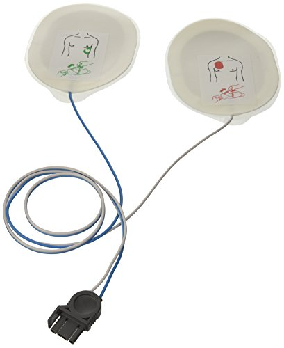 F7952 Ein Paar Einweg-Defibrillationselektroden zu Medtronic Physiocontrol, Osatu Bexen, Cardioline und Mindray - für Erwachsene