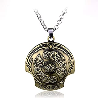 MINTUAN Necklace Defense of The Ancients Dota 2 Aegis of Champion Necklace Immortal Champion Shield Pendant