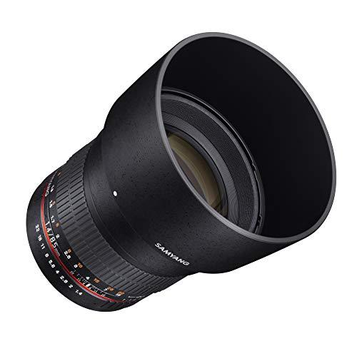 Samyang SY85M-E 85 mm F1.4 asphärisches High-Speed-Objektiv für Sony E-Mount-Kameras