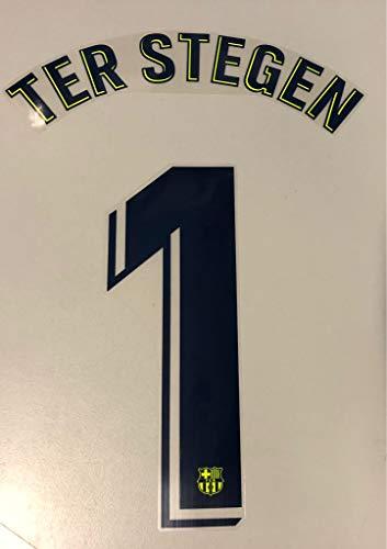 Flock Original FC Barcelona Trikot 26cm - TER STEGEN 1