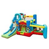 FHISD Castillos hinchables Juguetes Deportivos Hogar para niños pequeños Castillo Inflable Verano Parque de Atracciones Interior Parque Infantil Inflable Uso en el hogar