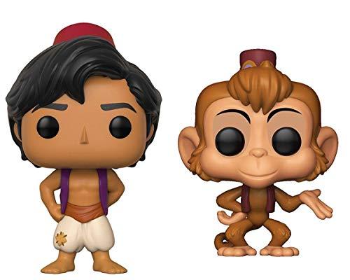 Funko POP!: Disney: Aladdin: Aladdin + Abu