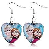 Bijoux Kids - Boucles d'oreilles La Reine des Neige Frozen Elsa Et Anna