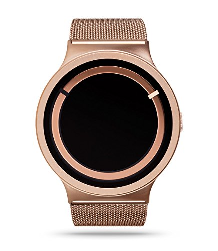 Ziiiro Unisexuhr Eclipse Metallic Rose Gold Z0012WRR