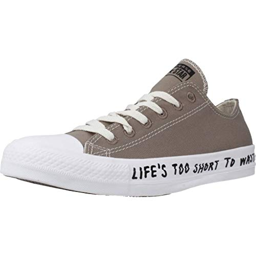 Converse - Chuck Taylor All Star Recycle -OX - Taupe, 45