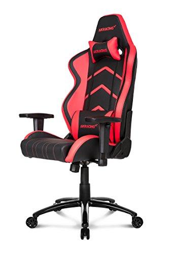 AKRacing PlayerAKRacing Player Gaming Chair - Nero/Rosso, Nero/Rosso, Acciao, 2 posti