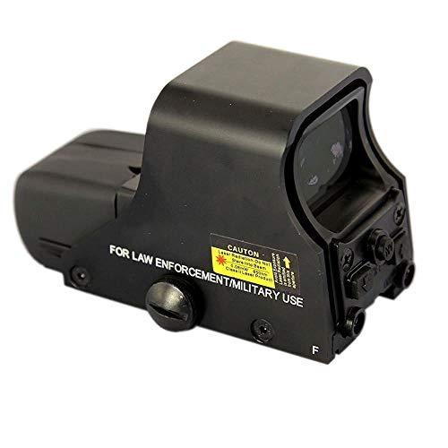 MAYMOC mira Red Dot punto verde vista alcance 10 niveles de brillo adapta a cualquier riel de 20mm