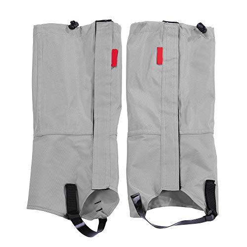 Wallfire 1 Paar wasserdichte Outdoor-Sportschuhüberzug, leicht, Laufen, elastische Schnee-Gamaschen für Wandern, Klettern, Jagd