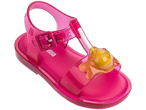 Melissa Mini Infants Mar Lollypop Melflex Sandal Pink Contrast